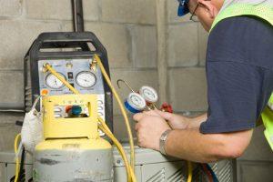refrigerant-filling